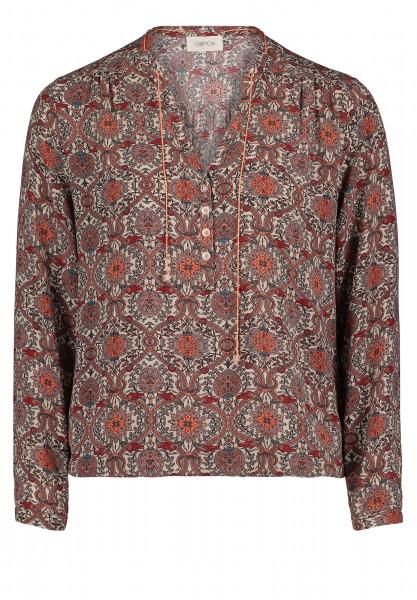 CARTOON Bluse mit Muster