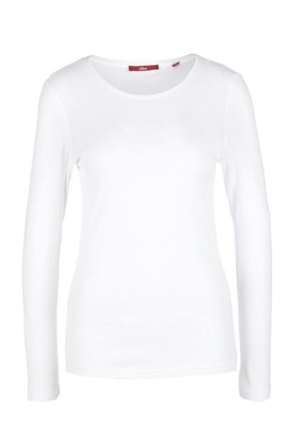 S.OLIVER Jersey-Langarmshirt