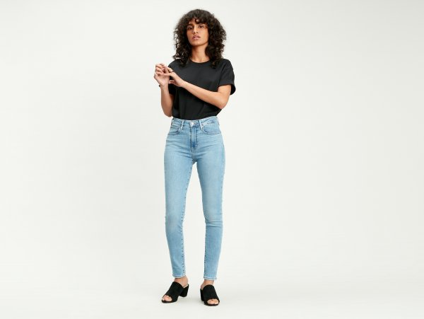 LEVI'S 721 HIGH RISE Skinny Jeans 10547228