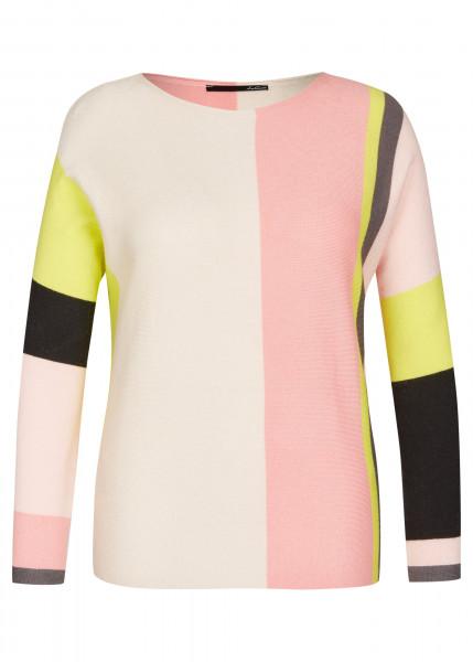 LECOMTE Pullover mit Colorblocks