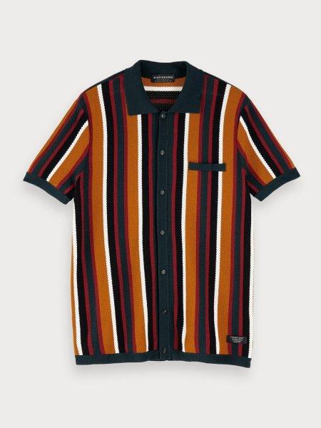 SCOTCH & SODA Feinstrick-Shirt 10551016