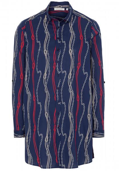ETERNA Langarm-Blusenkleid 10555026
