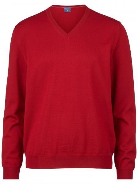 OLYMP Strick modern fit V-Neck Pullover